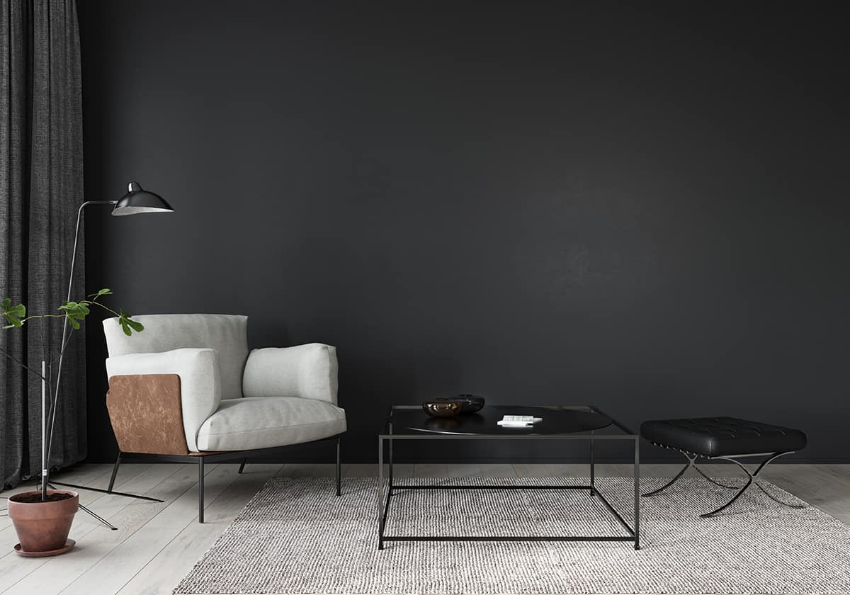 Use Two-Tone Greys as a Light and Dark Blend