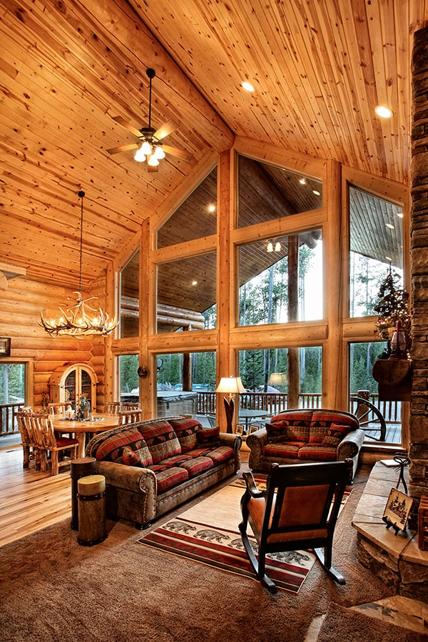 Use Wooden Materials For a Rustic Feel
