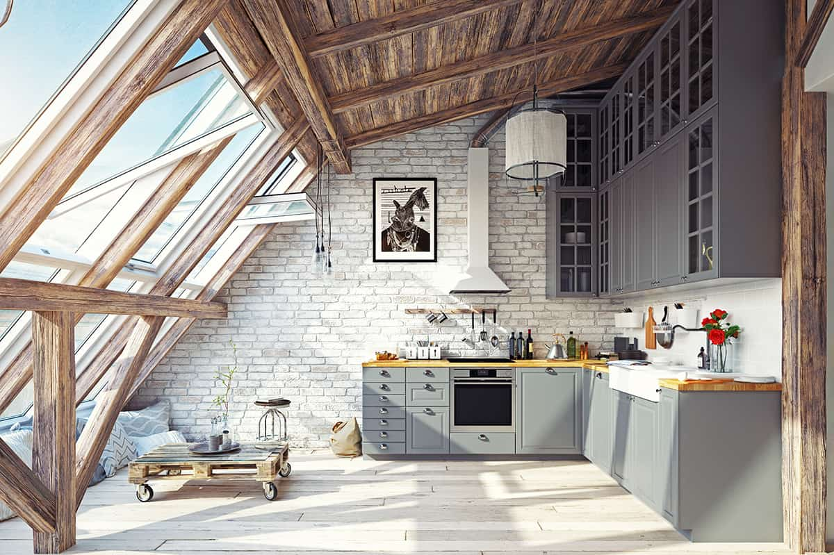 Fully Finished Attic