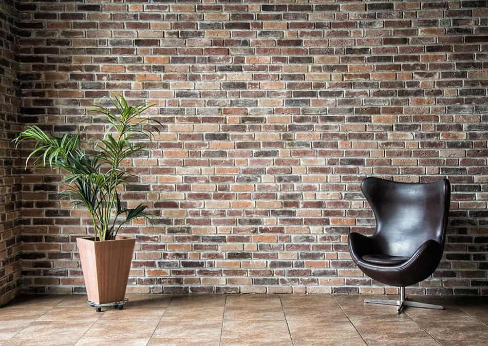 Green and Brown Brick