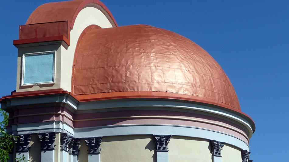 Visually Attractive Copper Roofs