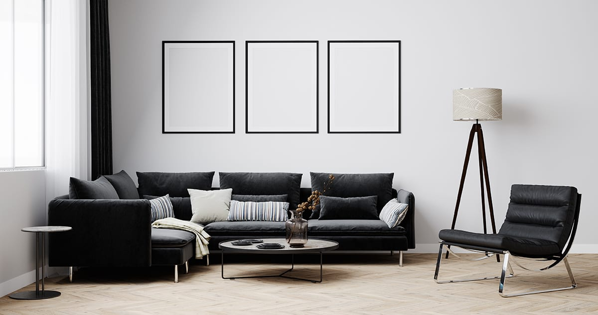 Go for an All-Black Furniture
