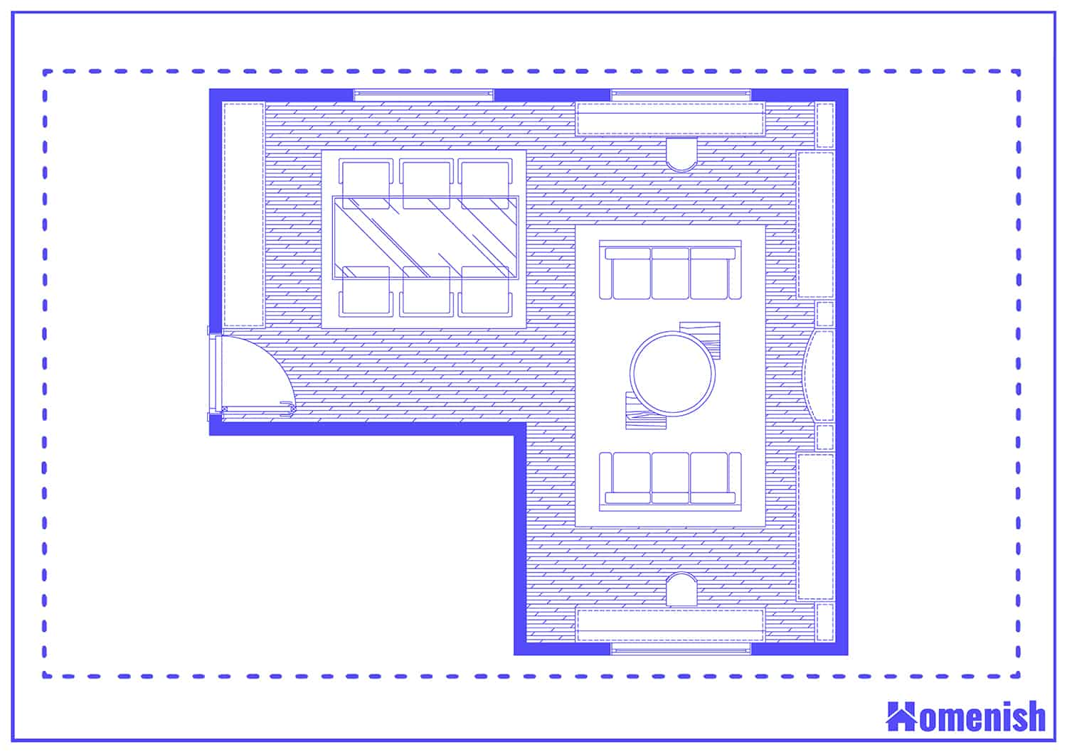 Lounge Diner Layout