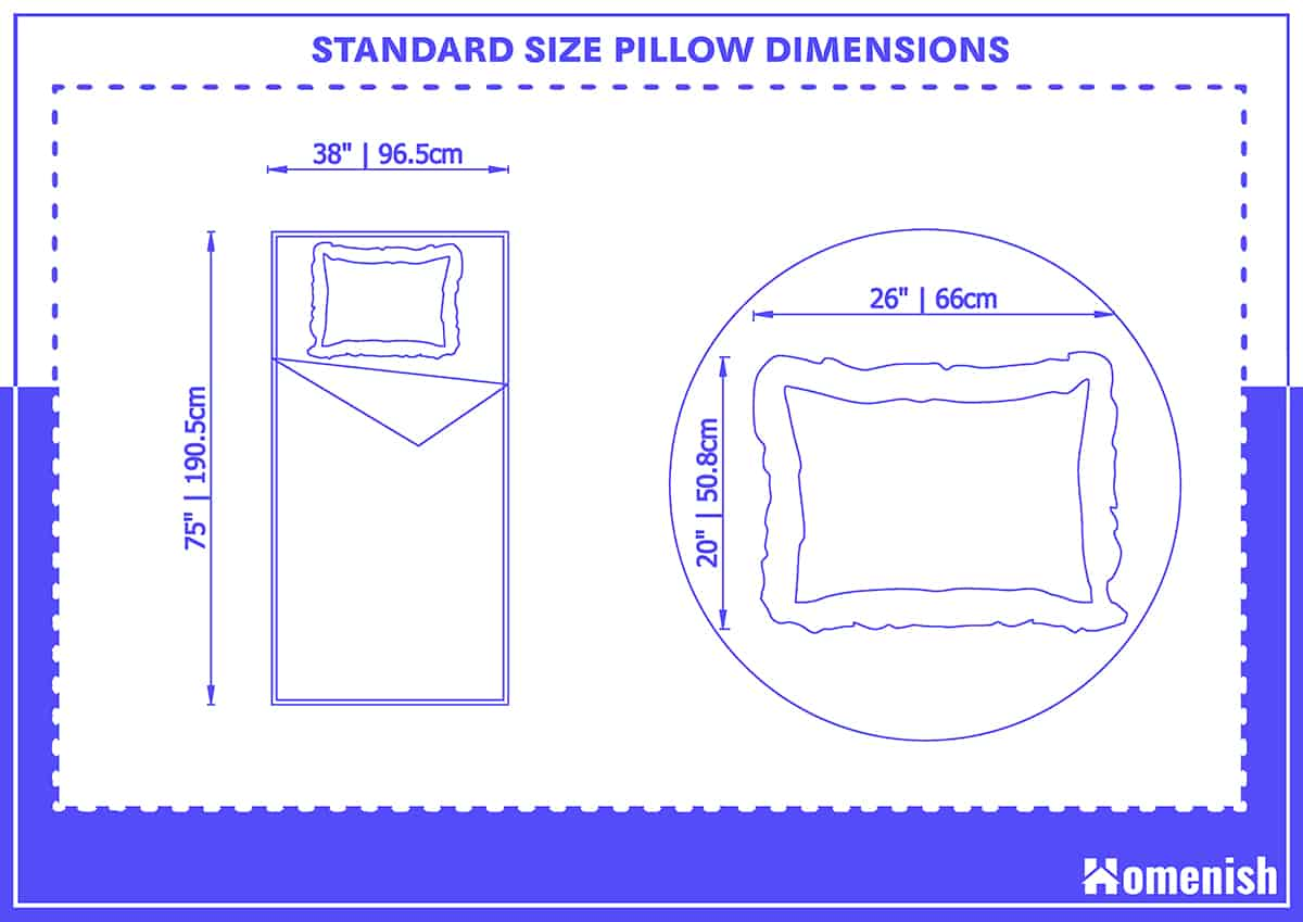 Standard Size Pillow Dimensions